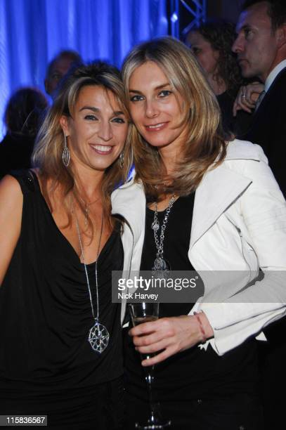Anastasia Webster and Kim Hersov during De Beers launches Stephen Websters new collection June 26 2007 at Bloomsbury Ballroom in London Great Britain