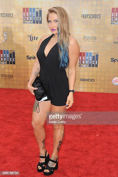 Anastasia Yankova attends Spike TV's Guys Choice 2016 at Sony Pictures Studios on June 4 2016 in Culver City CA