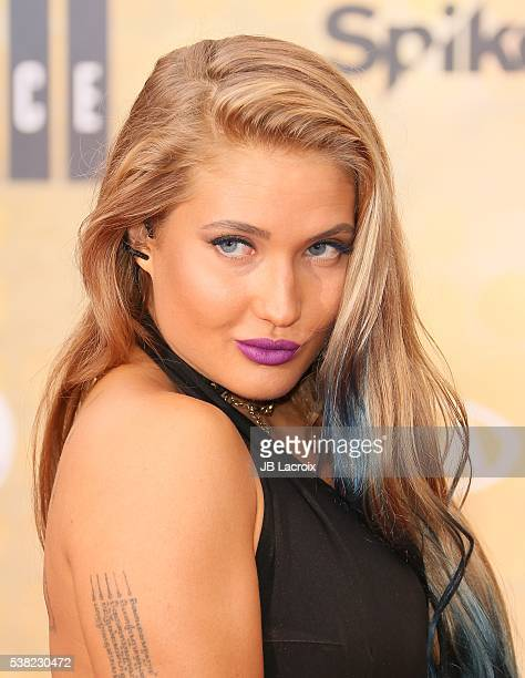 Anastasia Yankova attends Spike TV's 'Guys Choice 2016' at Sony Pictures Studios on June 4 2016 in Culver City California