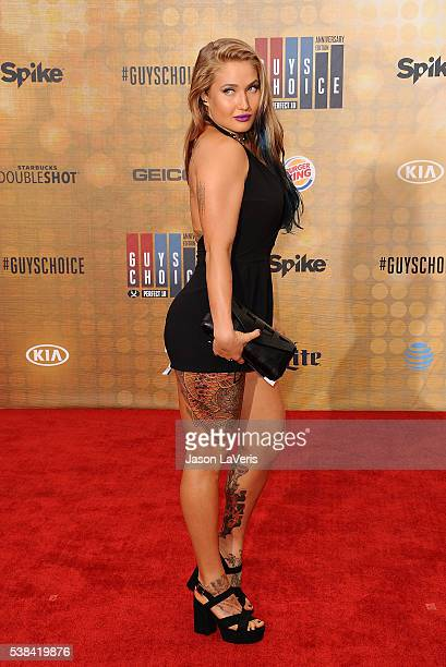 Anastasia Yankova attends Spike TV's Guys Choice 2016 at Sony Pictures Studios on June 4 2016 in Culver City California