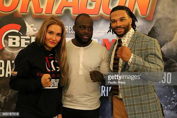 Anastasia Yankova with Melvin Manhoef and Brian Rogers Oktagon Kickboxing President Carlo Di Blasi was joined in Turin this afternoon by several of...