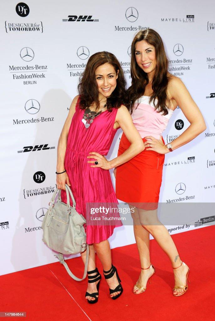 Minx By Eva Lux: Red Carpet - Mercedes-Benz Fashion Week Spring/Summer 2013