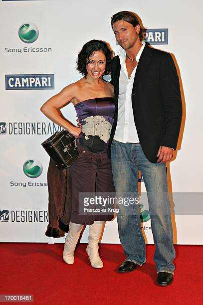 MTV Anastasia Zampounidis And Axel Wedekind Designerama At Mtv On Stage In The Arena At Berlin 140905
