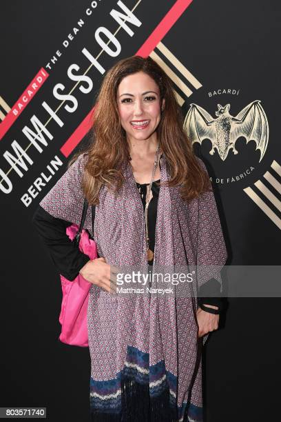 Anastasia Zampounidis attends Bacardi X The Dean Collection Present No Commission Berlin on June 29 2017 in Berlin Germany