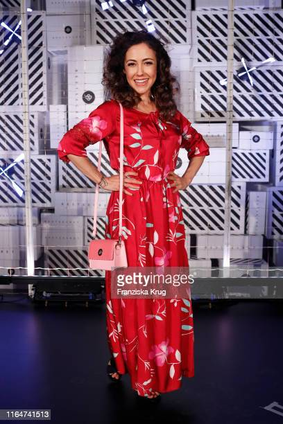 Anastasia Zampounidis attends the BestSecret store opening on August 29 2019 in Frankfurt am Main Germany
