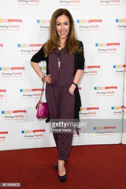 Anastasia Zampounidis attends the Ernsting's Family Fashion Show at Stage Operettenhaus on June 26 2017 in Hamburg Germany