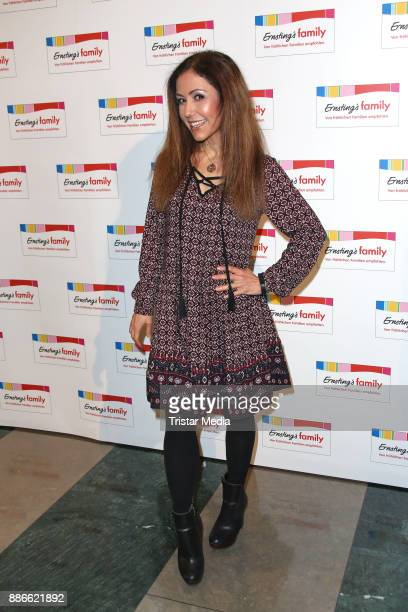 Anastasia Zampounidis attends the Ernsting's Family XMas Fashion Dinner on December 5 2017 in Hamburg Germany