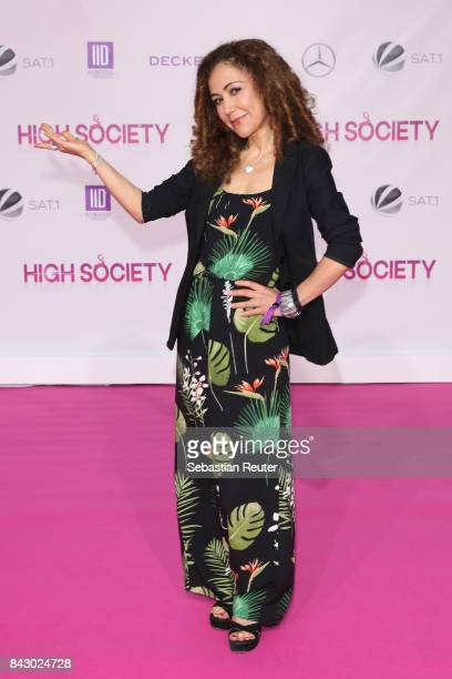 Anastasia Zampounidis attends the 'High Society' premiere at CineStar on September 5 2017 in Berlin Germany