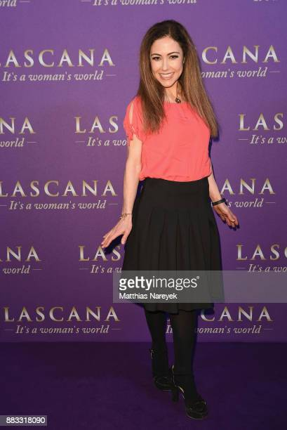 Anastasia Zampounidis attends the opening of the 'Sound of Passion' exhibition for dessous brand LASCANA at Hotel de Rome on November 30 2017 in...