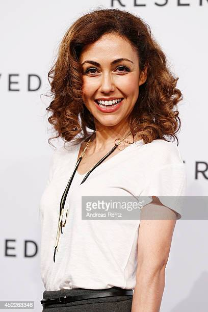 Anastasia Zampounidis attends the Reserved Let's Fashion Party during the MercedesBenz Fashion Week Spring/Summer 2015 at Alte Muenze on July 10 2014...