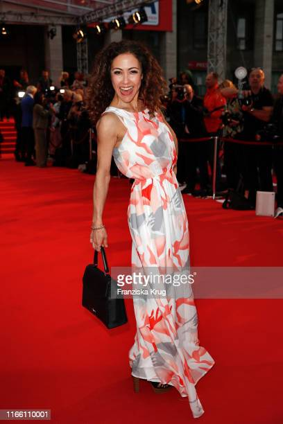 Anastasia Zampounidis during the IFA 2019 opening gala at Messe Berlin on September 5 2019 in Berlin Germany
