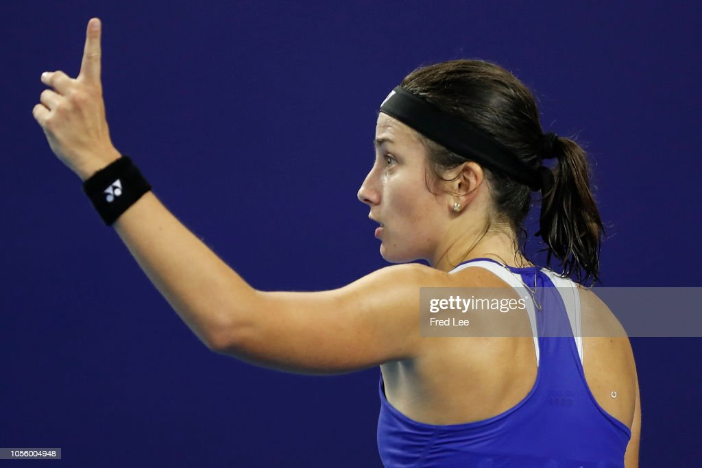 2018 WTA Elite Trophy Zhuhai - Day 3 : News Photo