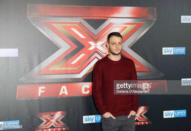 Anastasio attends X Factor 2018 Photocall on December 12 2018 in Milan Italy