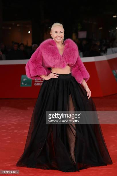 Anastasiya Gorshkova Craze walks a red carpet for 'NYsferatu Symphony Of A Century' during the 12th Rome Film Fest at Auditorium Parco Della Musica...