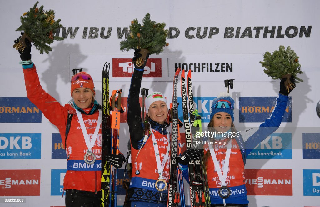 BMW IBU World Cup Biathlon Hochfilzen : News Photo