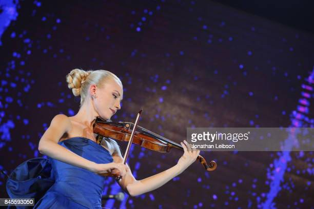 Anastasiya Petryshak performs during the Closing Night Gala at Cinecittà as part of the 2017 Celebrity Fight Night in Italy Benefiting The Andrea...