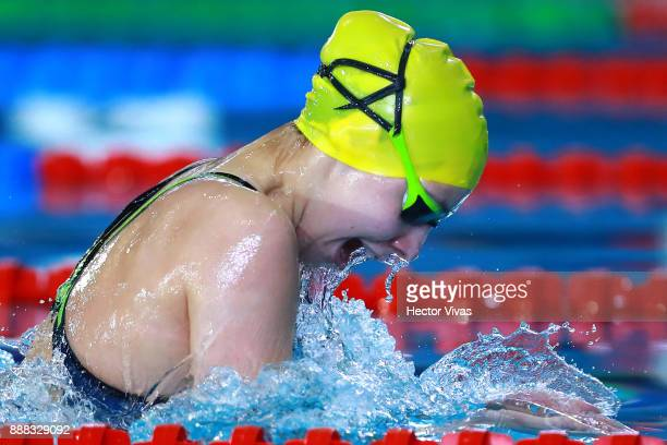 Anastasiya Zudzilava of Belarus competes in Women's 200 m Individual Medley SM1113 during day 5 of the Para Swimming World Championship Mexico City...