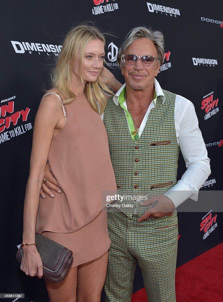 Anastassija Makarenko And Actor Mickey Rourke Attend Sin News Photo Getty Images Mickey rourke news, gossip, photos of mickey rourke, biography, mickey rourke girlfriend list 2016. https www gettyimages dk detail news photo anastassija makarenko and actor mickey rourke attend sin news photo 453841362