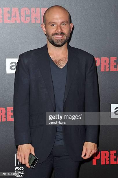 Anatol Yusef attends the premiere of AMC's 'Preacher' at Regal LA Live Stadium 14 on May 14 2016 in Los Angeles California