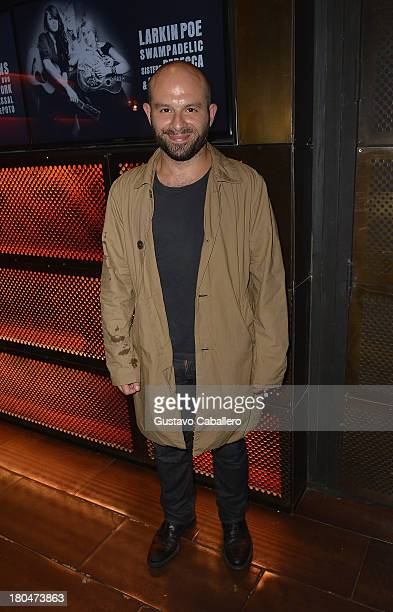 Anatol Yusef attends the Restoration Hardware presents an RH Music Private Concert at Highline Ballroom on September 12 2013 in New York City