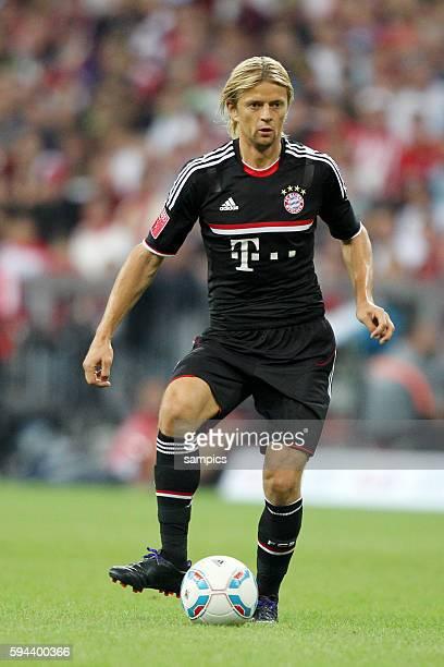Anatoliy Tymoshchuk FC Bayern Munchen Fussball Vorbereitung Audi Cup FC Bayern Munchen AC Mailand Vorbereitung Saison 2011 / 2012