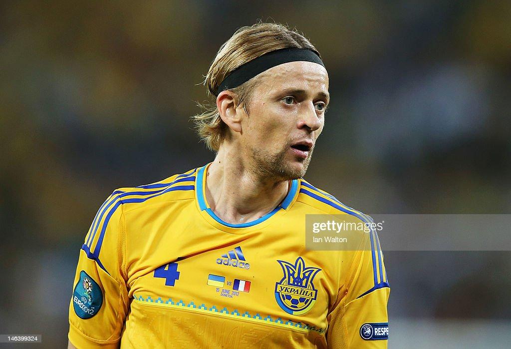 Ukraine v France - Group D: UEFA EURO 2012 : News Photo