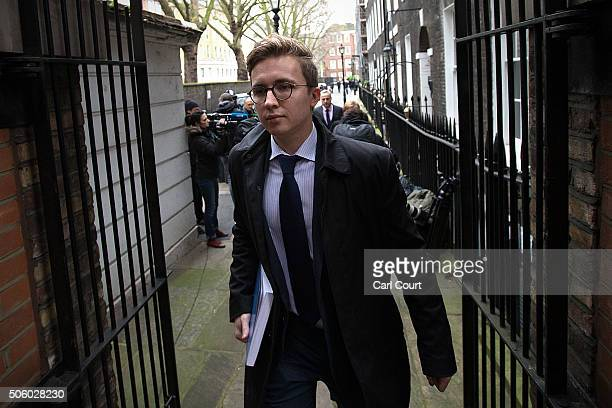 Anatoly Litvinenko arrives with his mother Marina Litvinenko to attend a press conference at her lawyer's office after receiving the results of the...