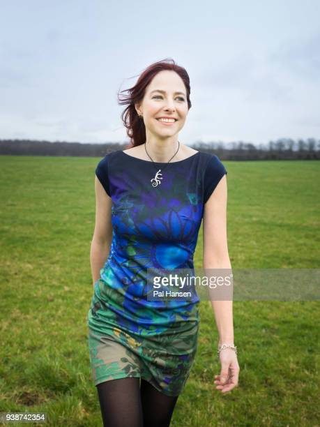 Anatomist anthropologist palaeopathologist and tv presenter Professor Alice Roberts is photographed for Psychologies magazine on March 6 2017 in...