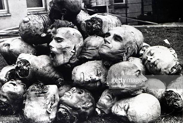 """Anatomy Institute Gdansk Corpses delivered from the Stutthof death camp and other places camp for use in the """"soapfactory"""" at the Anatomy Institute..."""