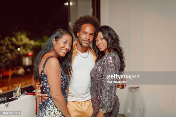 Anay Jackson and guests attend The One And Only, Dick Gregory, Album Release Event on here>> on September 16, 2021 in Burbank, California.