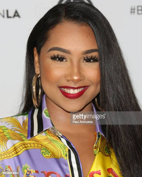 Anaya Ivy attends the Beautycon Festival LA 2018 at Los Angeles Convention Center on July 15 2018 in Los Angeles California