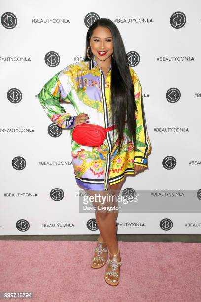 Anaya Ivy attends the Beautycon Festival LA 2018 at the Los Angeles Convention Center on July 15 2018 in Los Angeles California