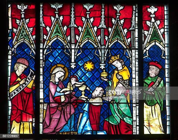 Anbetung der Könige Glasfenster im südlichen Seitenschiff des Liebfrauenmünsters