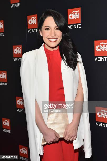 Anchor Alejandra Oraa attends the 2017 CNNE Upfront on May 11 2017 in New York City 27008_001