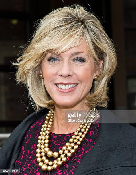 TV anchor and journalist Deborah Norville cohosts Fox 29's 'Good Day' at Fox 29 Studios on April 14 2014 in Philadelphia Pennsylvania