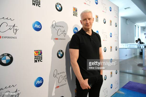 Anchor Anderson Cooper attends QUEER CITY: A CNN Experience on June 27, 2019 in New York City. 622001