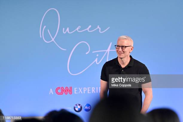 Anchor Anderson Cooper speaks during QUEER CITY: A CNN Experience on June 27, 2019 in New York City. 622001