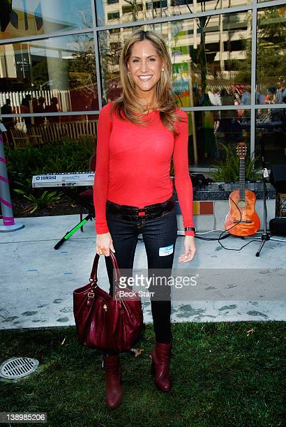 TV anchor Andy Adler attends Trueheart Events 1st annual All You Need Is Love Valentine's Day Party at Children's Hospital Los Angeles on February 14...