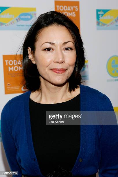 Anchor Ann Curry promotes 'Today's Moms Essentials for Surviving Baby's First Year' at Rouge Tomate on April 7 2009 in New York City