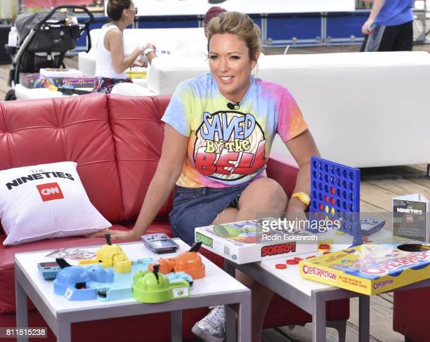 CNN anchor Brooke Baldwin hosts The Nineties at the Pier presented by CNN at Santa Monica Pier on July 9 2017 in Santa Monica California