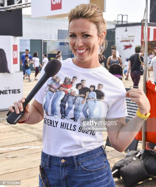 CNN anchor Brooke Baldwin poses for portrait at The Nineties at the Pier presented by CNN at Santa Monica Pier on July 9 2017 in Santa Monica...