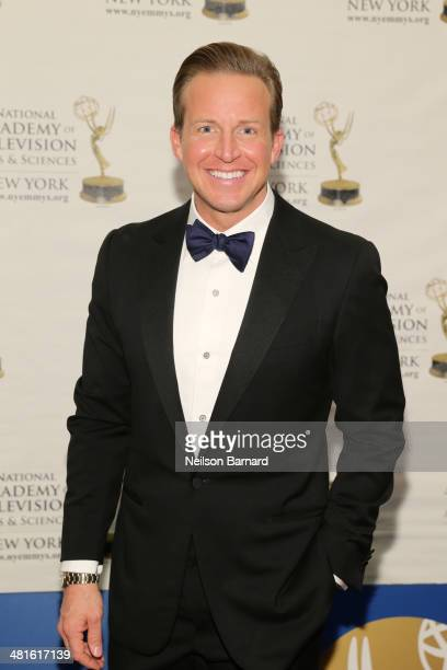 Anchor CBS 2 News This Morning CBS 2 News at Noon WCBS Chris Wragge arrives at the 57th Annual New York Emmy awards at Marriott Marquis Times Square...