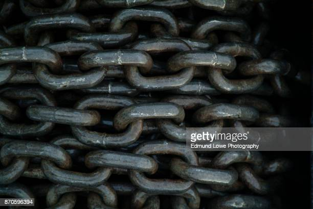 Anchor Chain in a Roll
