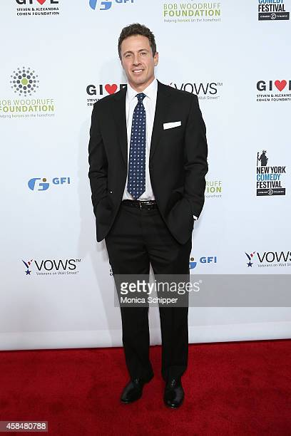 CNN anchor Chris Cuomo attends The New York Comedy Festival and The Bob Woodruff Foundation present the 8th Annual Stand Up For Heroes Event at The...