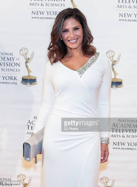 Anchor Darlene Rodriguez attends the 60th Anniversary New York Emmy Awards Gala at Marriott Marquis Times Square on May 6 2017 in New York City