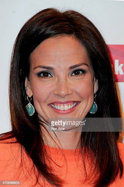 Anchor Erica Hill attends the Food Bank For New York City's 2015 Can Do Awards Dinner Gala at Cipriani Wall Street on April 21 2015 in New York City