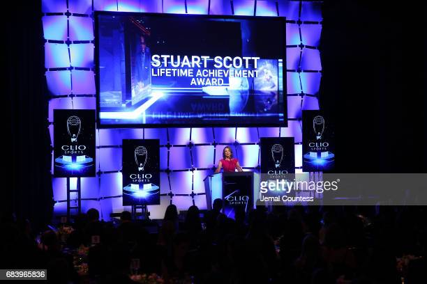 Anchor ESPN's SportsCenter Face to Face Clio Sports Host Hannah Storm hosts 2017 Clio Sports Awards at Capitale on May 16 2017 in New York City