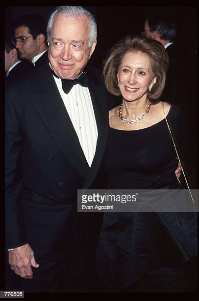 20/20 anchor Hugh Downs and wife Ruth attend the Broadcasting and Cable Hall of Fame inductee ceremony November 11 1996 in New York City The...