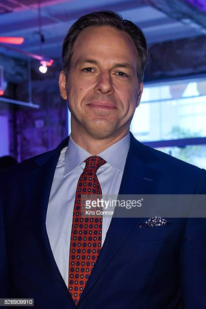 CNN anchor Jake Tapper poses for a photo during the 2016 CNN Correspondents' Brunch at the Longview gallery in Washington DC on May 1 2016
