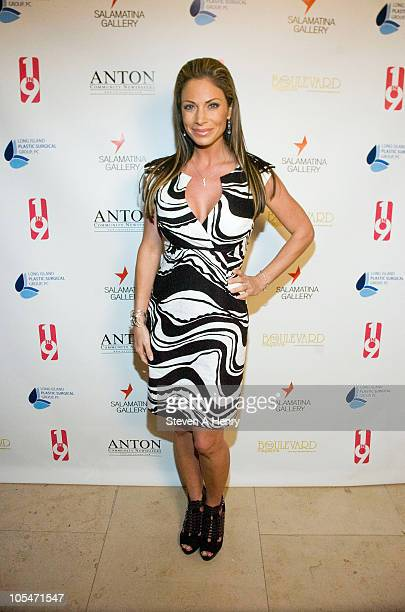 TV Anchor Jill Nicolini attends the 1 In 9 The Long Island Breast Cancer Action Coalition And The LIPSG Foundation fundraiser at Americana Manhasset...